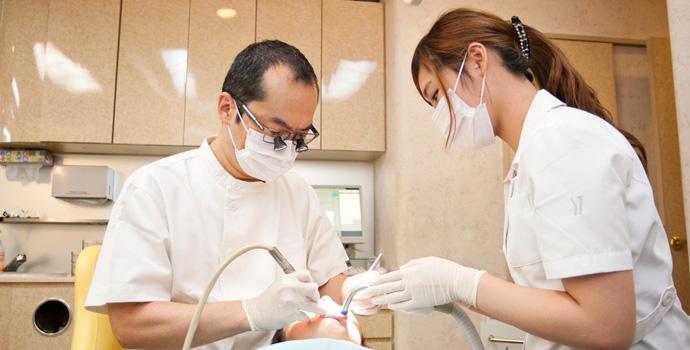 一般歯科・痛みを抑えた治療